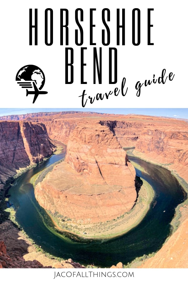 If you find yourself in Northern Arizona, close to Page or Lake Powell, you have to check out Horseshoe Bend. If you are traveling with kids, we have you covered! Learn all about visiting Horseshoe Bend with kids too! #travelguide #horseshoebend #travel