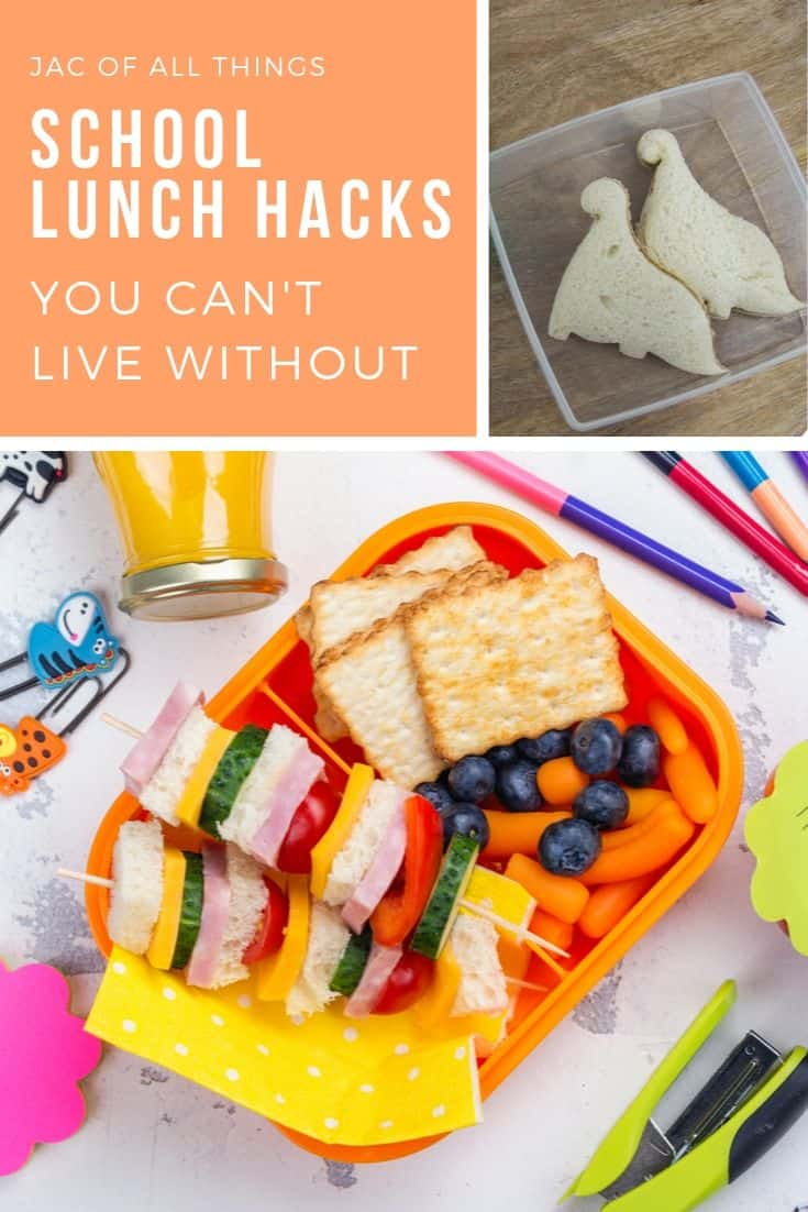 These school lunch hacks and tips will save you so much time and make packing lunch for your kids much easier. A must read for every parent who wants to get time back in their day. #schoollunch #lunchtips