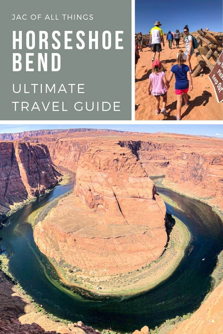 If you find yourself in Northern Arizona, close to Page or Lake Powell, you have to check out Horseshoe Bend. Read this travel guide to learn more about this beautiful natural wonder. Bonus! If you are traveling with kids, we have you covered! Learn all about visiting Horseshoe Bend with kids too!