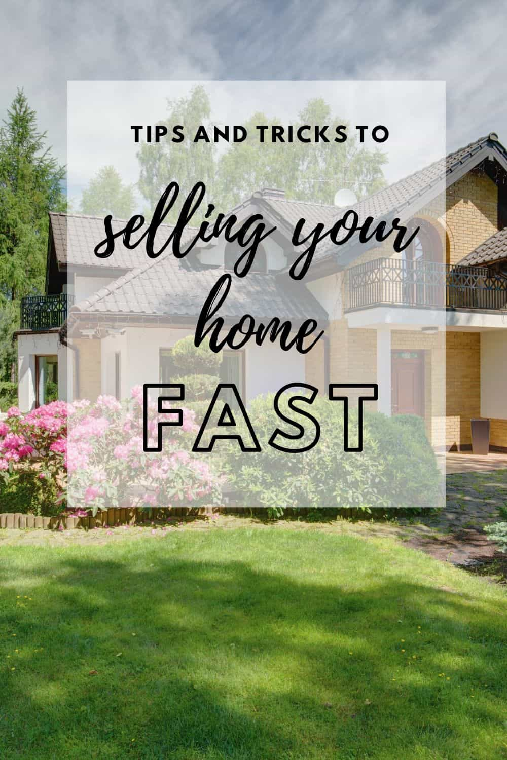 Sell your house fast and easy with these tips and tricks! This guide will walk you through everything you need to know to prepare your home to sell, stage your home to sell, what you need to do for showings, and even how to pick out the perfect realtor!