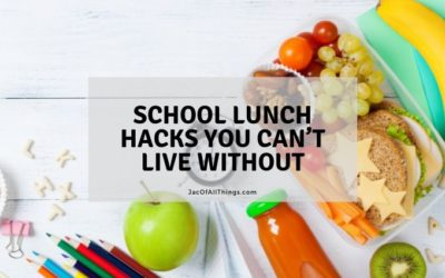 7 School Lunch Hacks You Can't Live Without