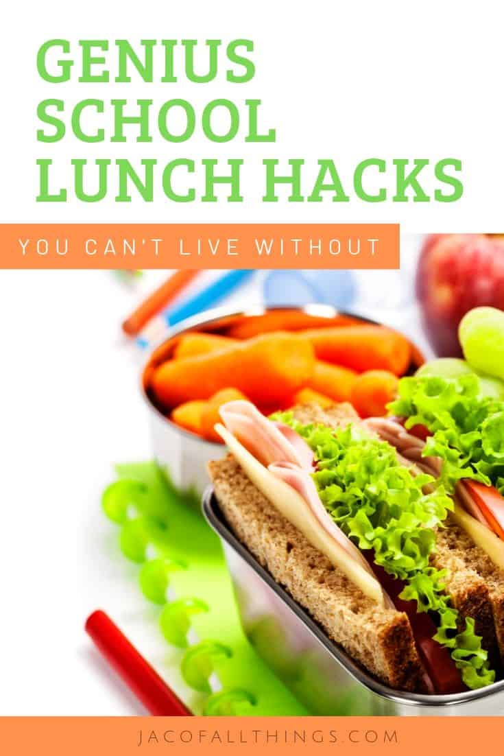 genius school lunch tips and hacks