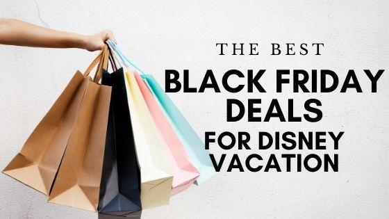 Black Friday deals Disney vacation