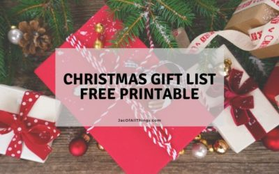 Christmas Gift List Printable (Free!)