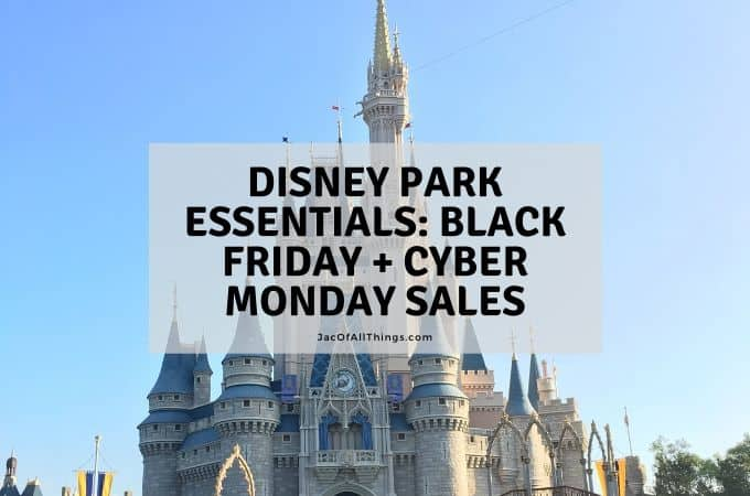 Disney park essentials for Black Friday and Cyber Monday