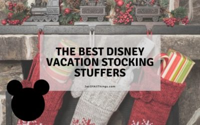 Stocking Stuffers for Disney Vacation