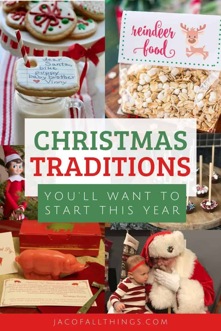 Looking for new Christmas traditions to add to your family this year? Check out some of our favorite traditions to add to your Christmas season to make it a little more special for you and your family. #christmas #christmastraditions