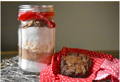 DIY Brownie Mix in a Mason Jar