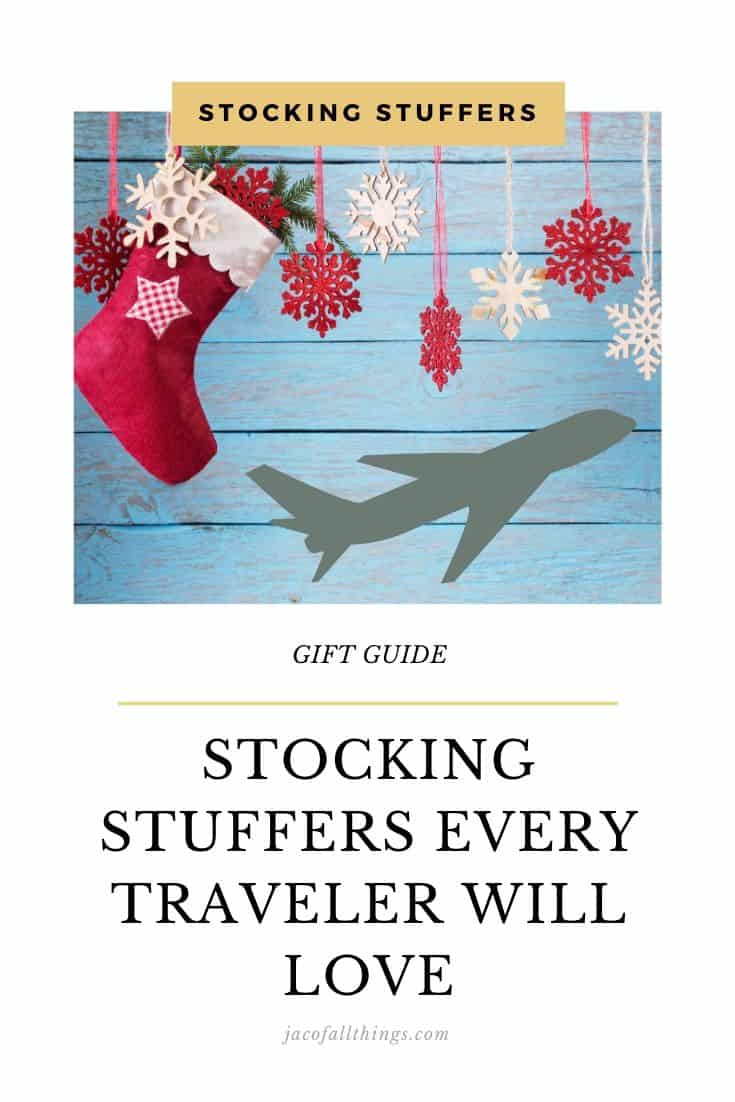 The best stocking stuffers for travelers! This Christmas, get the gift they love! These gift ideas are perfect for avid travelers!