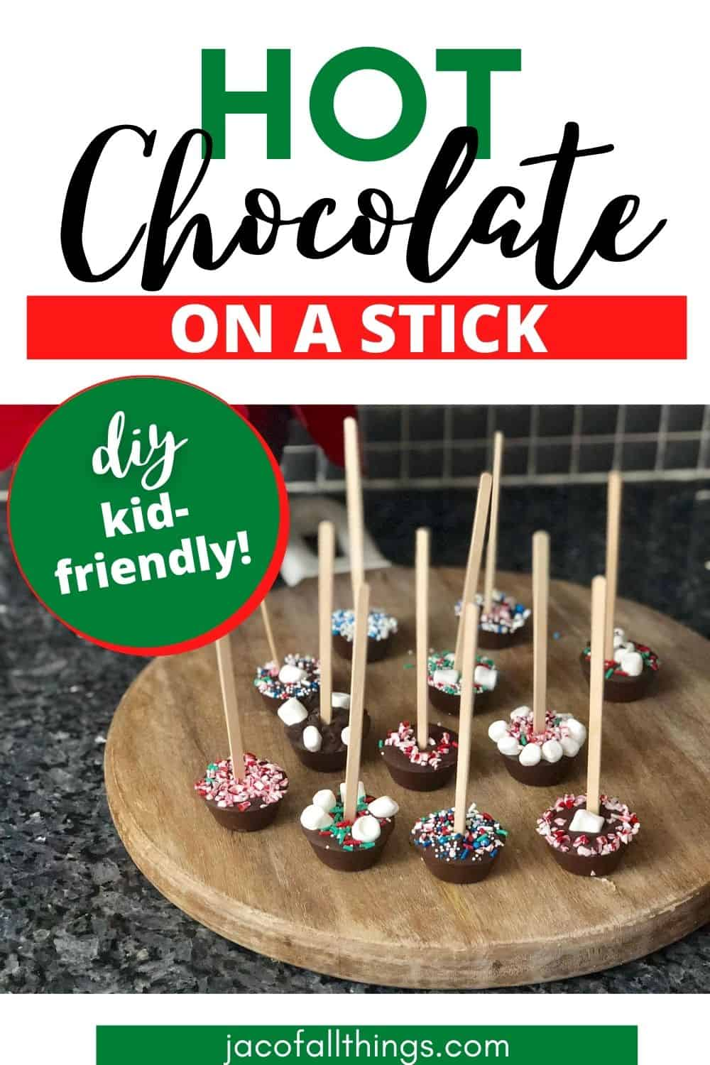 hot chocolate on a stick diy