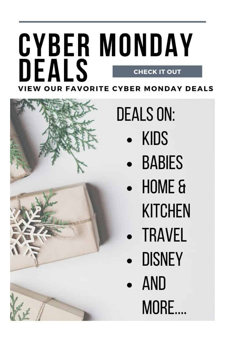 Check out these amazing Cyber Monday deals for 2019! Save money and buy your Christmas gifts today with these incredible offers and specials. #cybermonday #shoppingtips #holidayshopping