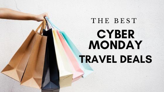 Cyber Monday deals travel
