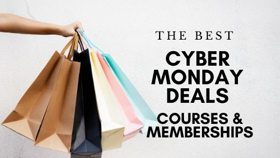 Cyber Monday deals courses and memberships