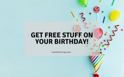 Amazing Free Gifts You Can Get On Your Birthday
