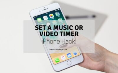 How to Set a Timer for your Music on your iPhone or iPad