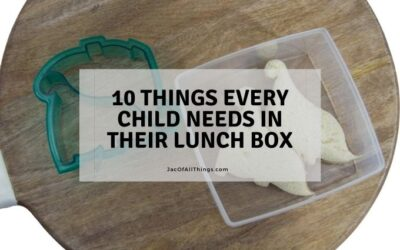 10 Things Every Child Needs in Their Lunch Box
