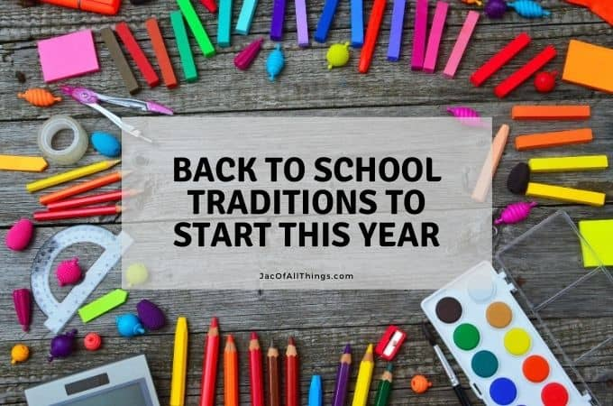 Back-To-School Traditions to Start This Year