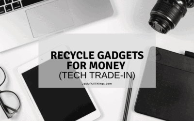 Tech Trade-in Programs! Recycle your gadgets for money!