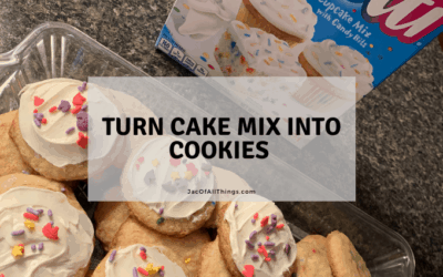 How to Make Cookies From Cake Mix