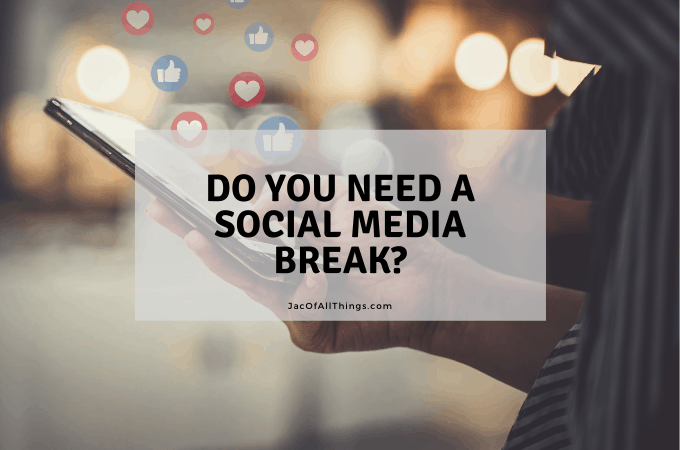 Do you need a social media break
